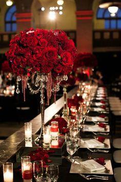 126 Best Red rose wedding images | Wedding, Red rose wedding ...