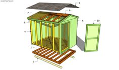 free storage shed plans | Building a garden shed