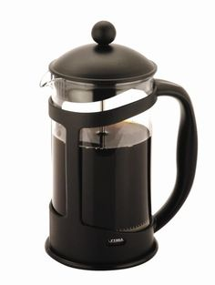 Cafetiere Black 6 Cup - Bring the cafe culture into your home with this Cafetiere Black 6 Cup Classic Espresso Coffee Maker Percolator. Coffee And Espresso Maker, French Press Coffee Maker, Rosso Coffee, Filter Coffee Machine, Heat Resistant Glass, Premium Coffee, Catering Equipment, Fresh Coffee, Ber