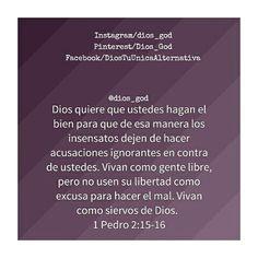 1 Pedro 2:15-16