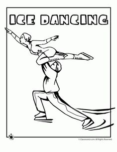 9 winter Olympics coloring pages with skiing, curling, hockey, bobsled, luge and more winter sports.