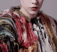 hungarian fashion student Lilla Csefalvay's diploma work (vanitas). fashion photos by Istvan Varfi via iiiinspired blog