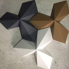 No photo description. - Мозаика - Welcome Haar Design Leather Wall Panels, Textured Wall Panels, 3d Wall Panels, Decorative Panels, Origami Wall Art, Origami Paper Art, 3d Wall Tiles, 3d Wall Art, Ceiling Design