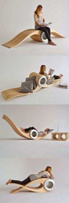 1 seat 4 ways | versatile seating | #seating #lounge #chaise