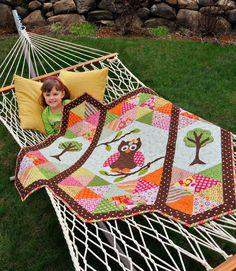 Little Quilts 4 Little Kids Quilt Book Anka's Treasures - Fat Quarter Shop Owl Quilts, Animal Quilts, Girls Quilts, Applique Quilts, Baby Quilts, Quilting Projects, Quilting Designs, Sewing Projects, Quilting Ideas