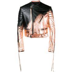 Haider Ackermann Haider Ackermann Spray Paint Biker Jacket (178,525 PHP) ❤ liked on Polyvore featuring men's fashion, men's clothing, men's outerwear, men's jackets, black, mens leather biker jacket, mens leather moto jacket, mens leather motorcycle jacket and mens leather jackets