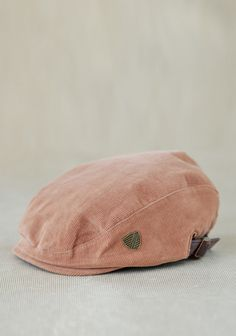 Corduroy Driver's Cap By Fore!! Axel & Hudson 29.99 at shopruche.com. This adorable brown corduroy driver