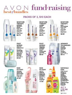 HAVE AN AVON FUNDRAISER.  EARN UP TO 40% FOR YOUR ORGANIZATION. Contact me pamperedcary@yahoo.com or website www.youravon.com/CaryMorales