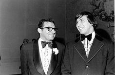 Penn State coach Joe Paterno, left, and Heisman Trophy winner John Cappelletti, who won the award in 1973.