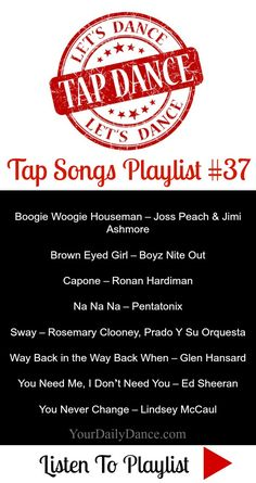Songs For Tap Dancers...