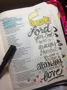 Joel 2:12 Faith Bible, My Bible, Bible Art, Bible Study Journal, Art Journaling, Scripture Journal, Bible Illustrations, Bible Knowledge, Scripture Verses