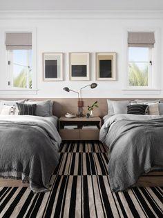 Grâce au DECOllectif j'ai eu l'occasion de mettre le quotidien entre parenthèse et me demander ce que je m'offrirais si j'étais riche... Il y a pas mal de choses et ma liste est variée. L'une des choses que je m'offrirais c'est une chambre avec des lits jumeaux. #décoration #chambre #lit #jumeaux #double #DECOllectif #rêve #chambreParentale #chambreAdulte Summer Bedroom, Bedroom Green, Trendy Bedroom, Cozy Bedroom, Bedroom Decor, Bedroom Ideas, Bedroom Boys, Master Bedroom, Coral Furniture