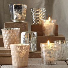 these votive holders are beautiful {west elm}