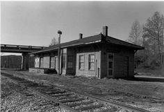 YVRR depot at Crutchfield NC 1952