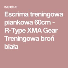 Escrima treningowa piankowa 60cm - R-Type XMA Gear Treningowa broń biała