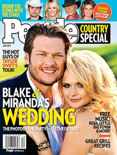 Miranda Lambert, Blake Shelton Wedding: Go Inside : People.com