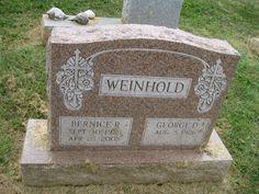 Bernice R Weinhold (1925 - 2005) - Find A Grave Photos
