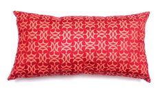Almofada lombar ( 30 x 60 cm ) Camurça estampa Ottomano de Arte Têxtil também nas medidas 50X50cm - 30x60cm - 40x60cm só a capa ou completas