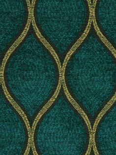 Modern Upholstery Fabric in textured dark teal with wheat and walnut outlines. This fabric is suitable for furniture upholstery. ($49.00  Fabric Name for Sample Order: Brussels)