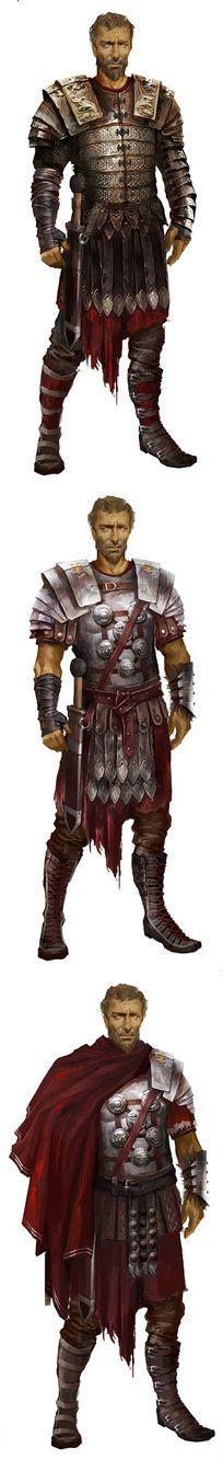 An Imperial Roman General  - http://www.inblogg.com/an-imperial-roman-general/