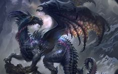 dragons | Fantasy Beast Dragons Wings Artwork #43638 HD Wallpaper Res: 1920x1200 ...