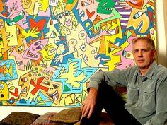 About the legendary pop art performer James Rizzi James Rizzi, Pop Art, 6th Grade Art, Art Themes, City Art, Blue Abstract, Types Of Art, Elementary Art, Famous Artists