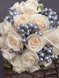 Floral Wreath, Wreaths, Gray, Silver, Home Decor, Floral Crown, Decoration Home, Door Wreaths, Room Decor