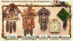 Original Kuckucksuhren aus dem Schwarzwald