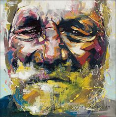 Original Portrait Painting by Charla Maarschalk Portrait Acrylic, Acrylic Colors, Original Paintings, Oil Paintings, Saatchi Art, Canvas Art, Image, Portraits, Bright Colours