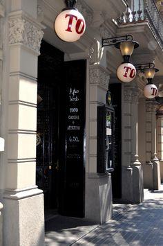 Restaurante Toto en Barcelona #barcelona #totorestaurante #design