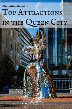 Charlotte's Got a Lot – Top Attractions in the Queen City. North Carolina has amazing attractions follow along with us as we walked the streets in the Queens City.