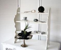 Vintage Regale - Holzregal # Shabby Chic # altweiß - ein Designerstück von ifb bei DaWanda