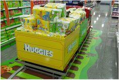 Petit train Huggies
