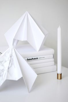 Bauhaus Love Aesthetics, Pink Tiles, Silver Blonde, White Box, Scandinavian Home, Paper Decorations, Paper Design, Art And Architecture, Interior And Exterior