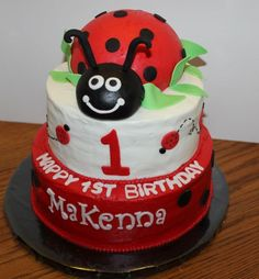 Ladybug cake - Ladybug cake for first birthday