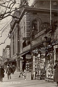 Chiswick Empire - a suburban and urban district of west London, England, and… Victorian London, Vintage London, Old London, West London, Old Pictures, Old Photos, London History, Local History, London Theatre