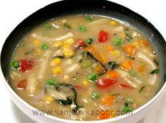 Pasta and Veggie Soup