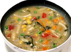 Pasta and Veggie Soup