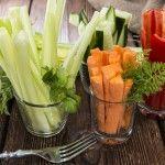 #news : Il modo più salutare per mangiare le verdure: il pinzimonio