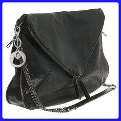 MG Collection Solara Envelope Foldover Cross Body Shoulder Bag, Black, One Size - Shoulder bags (*Amazon Partner-Link)