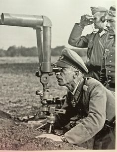 German officers, Eastern Front