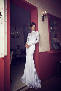 Riki Dalal is a Haute Couture bridal gown designer producing extravagant gowns for every bride's style. Wedding Dress Types, Muslim Wedding Dresses, Wedding Dresses 2014, Gorgeous Wedding Dress, Bridal Dresses, Event Dresses, Dresses Dresses, Perfect Wedding, Turtleneck Wedding Dress