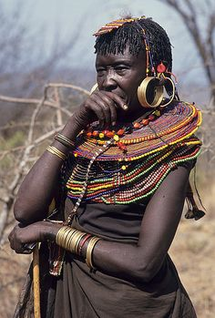 Pokot tribe, North of Baringo, Kenya - Olivier Darmon