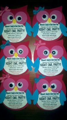 Night Owl Invites