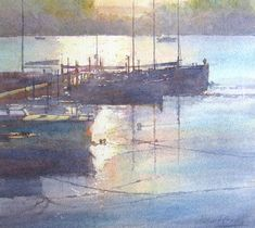 A selection of step by step demonstrations in watercolour, oil and pastel by Robert brindley a member of the royal society of marine artists specialising in capturing light in landscape and coastal scenery. Watercolor Projects, Watercolour Tutorials, Watercolor Techniques, Art Techniques, Painting Tutorials, Pastel Watercolor, Watercolor Print, Watercolour Painting, Watercolours