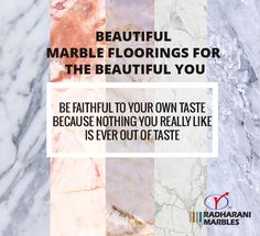 Beautiful #Marble Floorings for the beautiful you