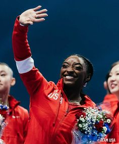 Red Leather, Leather Jacket, Simone Biles, Athletes, Gymnastics, Superstar, Legends, Queen, Celebrities