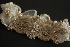 Wedding Garter Set   Product code VIVA2 by MillieICARO on Etsy, $89.00
