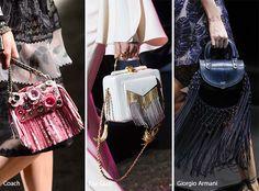 Spring/ Summer 2017 Handbag Trends: Fringed Bags/ Purses