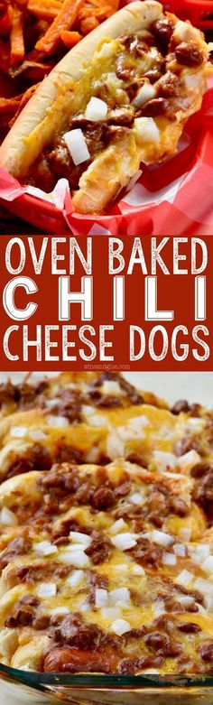 Oven Baked Chili Cheese Dogs | Cake And Food Recipe